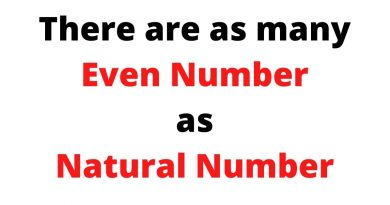There are as many Even Number as Natural Number | Introduction to Infinity